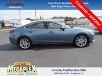 This 2014 Mazda Mazda6 i in Blue is well equipped with:
