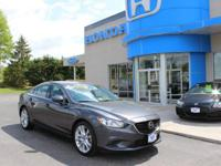Mazda6 i Touring and SKYACTIV?-G 2.5L I4 DOHC 16V. So