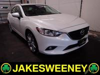 Get behind the wheel of our One Owner 2014 Mazda6 I