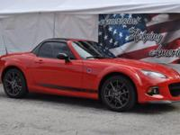 This outstanding example of a 2014 Mazda MX-5 Miata 2dr