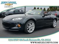 MX-5 Miata Grand Touring trim. CARFAX 1-Owner, GREAT