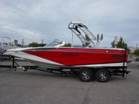 2014 MB F21 TOMCAT, TOWER, ZERO OFF, WAKEBOARD RACKS,