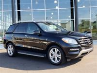 Certified Pre-Owned 2014 Mercedes-Benz ML350. Black