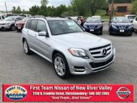 Diamond Silver 2014 Mercedes-Benz GLK GLK 350 4MATIC