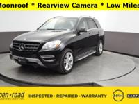 New Price! ML 350 4MATIC , 4D Sport Utility, 3.5L V6