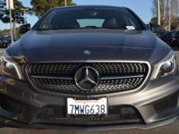 New Price! Certified. Grey 2014 Mercedes-Benz CLA 250