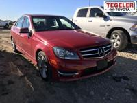 Red 2014 Mercedes-Benz C-Class C 250 RWD 7G-TRONIC PLUS