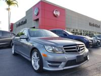 This 2014 Mercedes-Benz C-Class 4dr Sdn C 250 Sport RWD