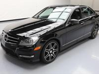 This awesome 2014 Mercedes-Benz C-Class comes loaded