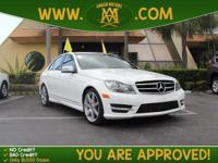 Options:  2014 Mercedes C-Class Has Such Low Mileage