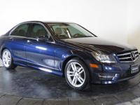 THIS C-CLASS IS CERTIFIED! BLUETOOTH, SUNROOF /