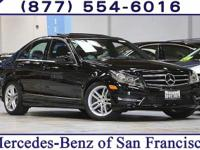 Clean CARFAX. Certified. Black 2014 Mercedes-Benz