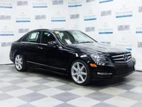 Check out this gently-used 2014 Mercedes-Benz C-Class