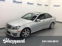 LOW MILES - 23,190! C 250 Sport trim. Sunroof, Heated