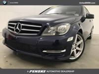C 250 Sport trim, Lunar Blue Metallic exterior and