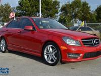 You're looking at a 2014 Mercedes-Benz C-Class
