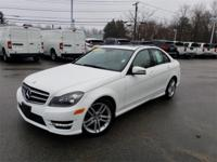 2014 Mercedes-Benz C-Class C 300 White Odometer is 7251