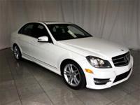 ** 2014 Mercedes-Benz C-Class in White AURORA