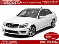 This Incredible White 2014 Mercedes-Benz C300 Sport