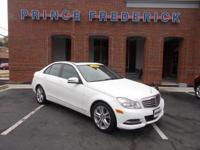 Elegantly expressive, this 2014 Mercedes-Benz C-Class