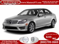 This Amazing Silver 2014 Mercedes-Benz C300 Sport