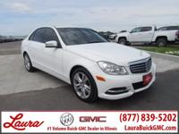 Recent Trade! C300 3.5 V6 AWD. 4Matic, Power Sunroof,