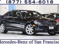 Clean CARFAX. Certified. Black 2014 Mercedes-Benz
