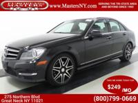 This Incredible Black 2014 Mercedes-Benz C300 Sport