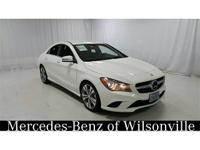 CARFAX One-Owner. Cirrus White 2014 Mercedes-Benz CLA