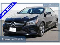2014 Mercedes-Benz CLA CLA 250 Black New Price! CARFAX