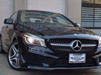 This Mercedes-Benz CLA-Class is ready and waiting for