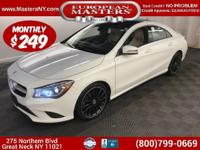 This Lovely White 2014 Mercedes-Benz CLA250 4Matic
