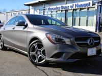 Come check out our CLA250 4MATIC in Mountain Grey!