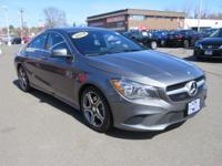 ONE OWNER and CLEAN CARFAX. CLA250 4MATIC|4D Sedan,