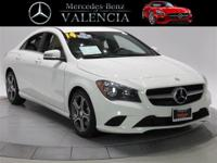 Clean CARFAX. Certified. White 2014 Mercedes-Benz
