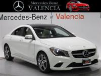 White 2014 Mercedes-Benz CLA CLA 250 4D Sedan FWD