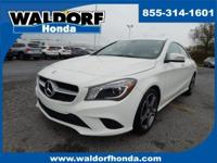 Come see this 2014 Mercedes-Benz CLA-Class CLA 250. Its