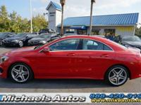 Mercedes-Benz CLA250 with Pano-AMG Wheels . Options