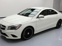2014 Mercedes-Benz CLA-Class with 2.0L Turbocharged I4