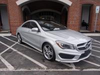 This Mercedes-Benz CLA-Class has a dependable