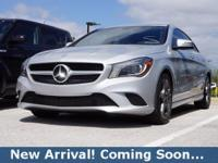 2014 Mercedes-Benz CLA-Class CLA250 in Polar Silver