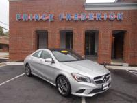 This Mercedes-Benz CLA-Class has a strong Intercooled