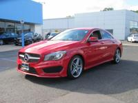 This  2014 Mercedes-Benz CLA-Class doesn't compromise