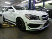 CLA45 AMG 4 MATIC! ONLY 13K MILES! BEAUTIFUL COLOR