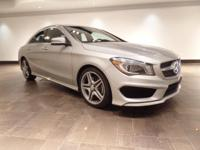 This 2014 Mercedes-Benz CLA250 Sedan is featured in