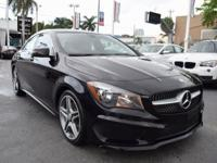One-Owner Local Lease Return!. CLA250 Sport, Night