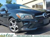 CARFAX 1 owner and buyback guarantee!!! This CLA250 has