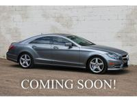 For sale is a stunning 2014 Mercedes-Benz CLS550 4Matic