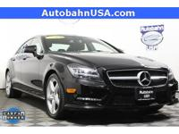 Black 2014 Mercedes-Benz CLS CLS 550 4MATIC 4MATIC