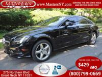 This Wonderful Black 2014 Mercedes-Benz CLS550 4Matic